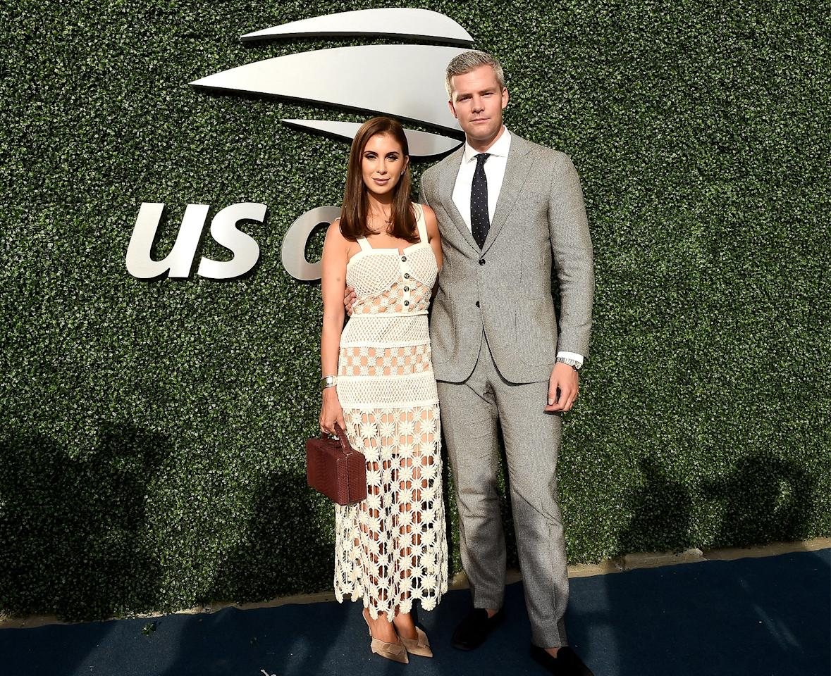 on the USTA 19th Annual Opening Night Gala Blue Carpet at USTA Billie Jean King National Tennis Center on Aug. 26.