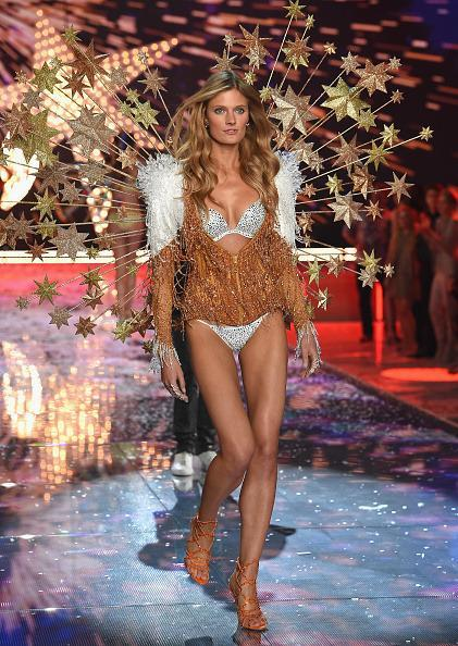 <p>Blink and you might miss Constance Jablonski in her shooting star wings. Kidding! Photos and YouTube videos last forever. </p>