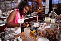 "<p>You must really have some skill in order to be a contender on <em>MasterChef,</em> because the <a href=""https://web.archive.org/web/20170703175522/http://luckypeach.com/christina-tosi-masterchef-behind-the-scenes/"" rel=""nofollow noopener"" target=""_blank"" data-ylk=""slk:contestants are forbidden from using recipes"" class=""link rapid-noclick-resp"">contestants are forbidden from using recipes</a>. That means that you must have it all down pat by memory—yikes!</p>"