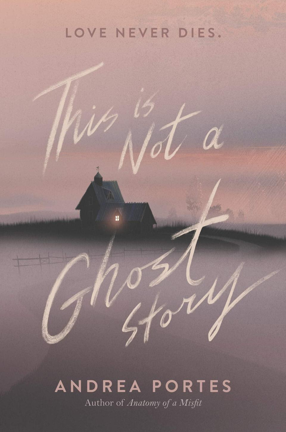 <p><span><b>This Is Not a Ghost Story</b></span> by Andrea Portes is a creepy, twist-filled story with a central message that appears to be beware of any job that sounds too good to be true. During the summer before college, Daffodil Franklin lands a job housesitting a mansion for a wealthy couple, but it doesn't take long for her to realize there's someone or something that doesn't want her in the house. </p> <p><em>Out Nov. 17</em></p>