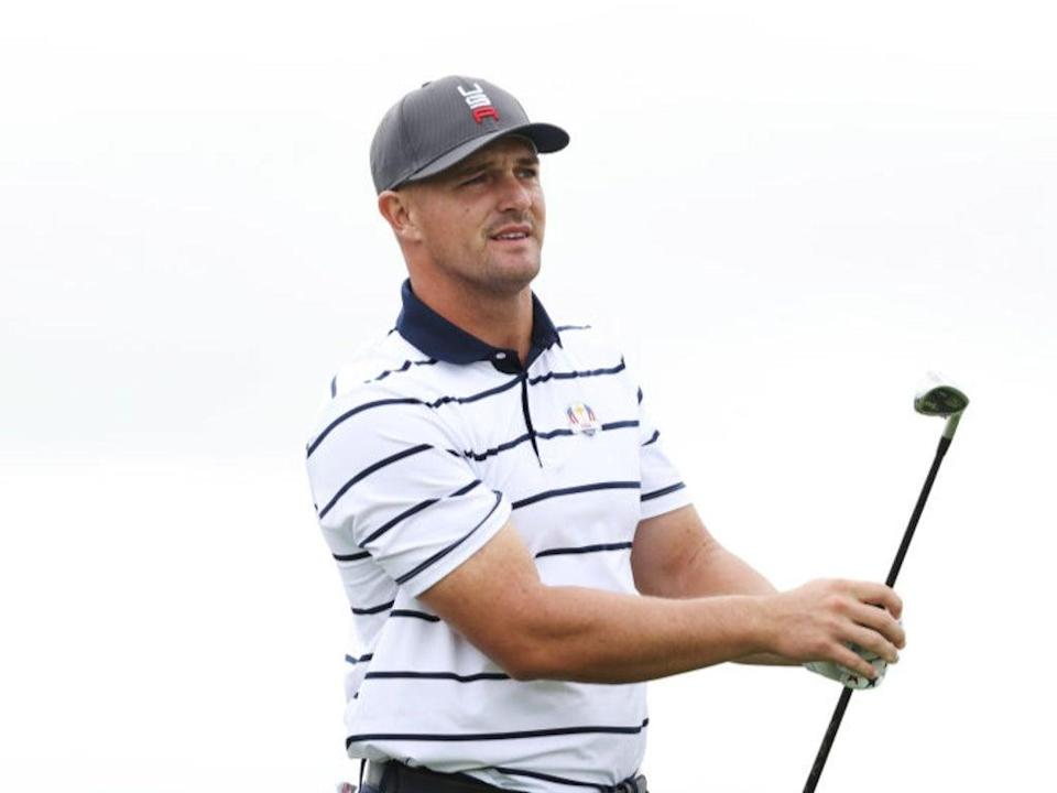 DeChambeau is a controversial character on the golf circuit (Getty Images)