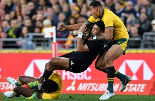 All Blacks crush Wallabies in Bledisloe