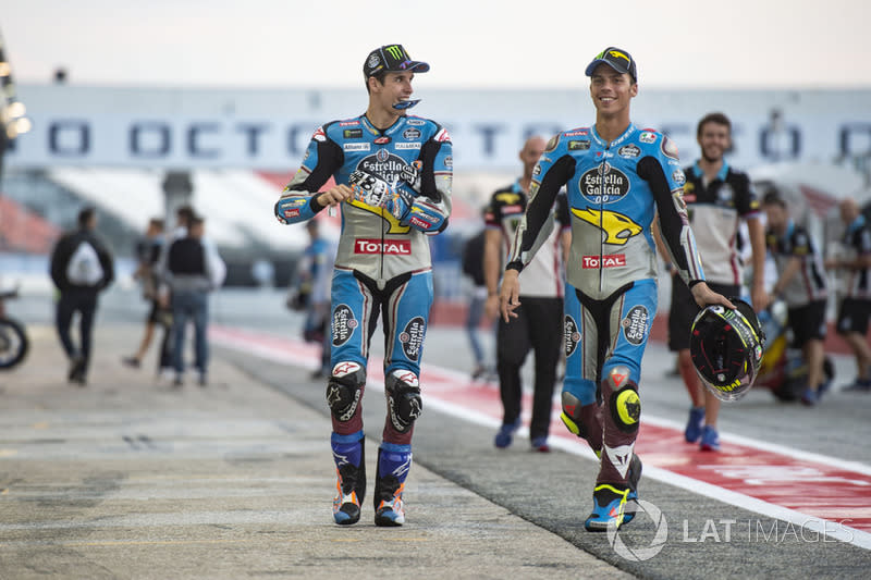 "Alex Marquez, Marc VDS Joan Mir, Marc VDS<span class=""copyright"">Gold and Goose / Motorsport Images</span>"