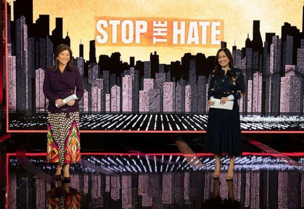 """ABC News Live presents a primetime streaming news special """"Stop the Hate: The Rise in Violence Against Asian Americans. (Jeff Neira/ABC)"""