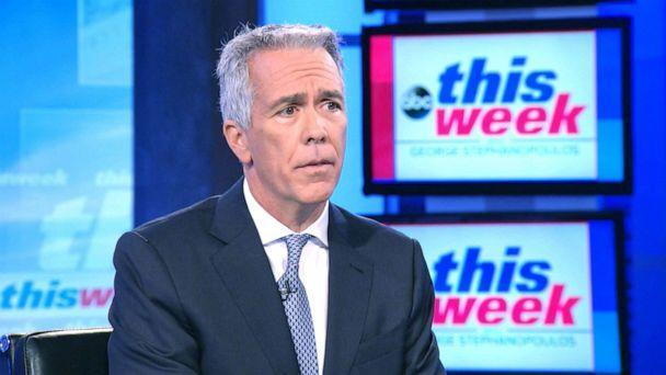 PHOTO: Former Congressmen Joe Walsh announces Republican presidential primary challenge against President Trump on ABC's 'This Week,' Aug. 25, 2019. (ABC News)