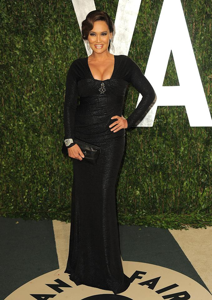 """And last but not least ... """"Celebrity Apprentice"""" castmember and former """"Wayne's World"""" star Tia Carrere. Schwing!<br><br><a target=""""_blank"""" href=""""http://bit.ly/lifeontheMlist"""">Follow Matt Whitfield on Twitter!</a><br>"""