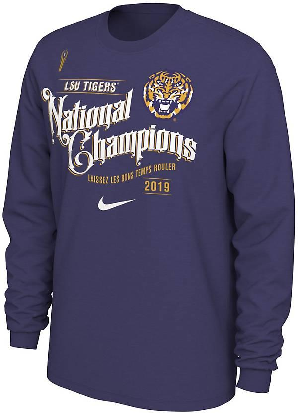 LSU Tigers 2019 National Champions Long Sleeve T-shirt