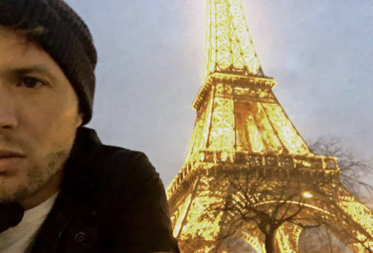 """<p>Sometimes, even stars don't like their selfies. """"This dumb selfie of me & eiffel tower makes it look like i'm 1000% not in paris but standing in front of a drawing of tower or superimposed,"""" wrote Ryan Phillippe in November. Better luck next time! (Photo: <a rel=""""nofollow noopener"""" href=""""https://www.instagram.com/p/BNVMZAfD57P/"""" target=""""_blank"""" data-ylk=""""slk:Ryan Phillippe via Instagram"""" class=""""link rapid-noclick-resp"""">Ryan Phillippe via Instagram</a>) </p>"""