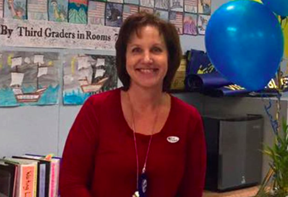 <p>Susan Smith, 53, a resident of Simi Valley, California, near Los Angeles, had worked for the local school district since 2001 as the office manager at Vista Elementary School. She was married with two adult children. (Susan Smith) </p>