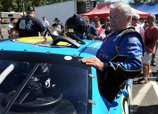 Hershel McGriff made his most recent K&N Series start at Sonoma in 2012 at the age of 84. (Getty)