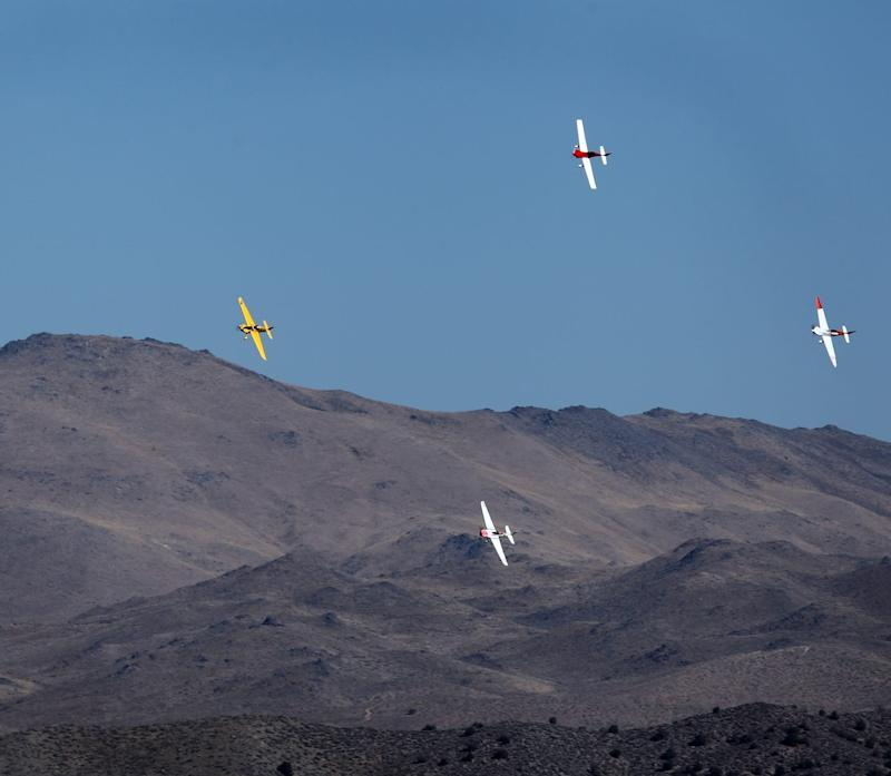 A photo from the Air Race 1, the fuel-powered version of the Air Race E.