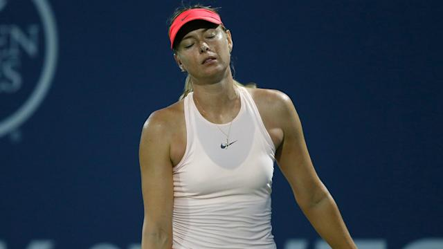 Maria Sharapova will not compete at the WTA Western and Southern Open in Cincinnati after withdrawing due to her ongoing left arm injury.