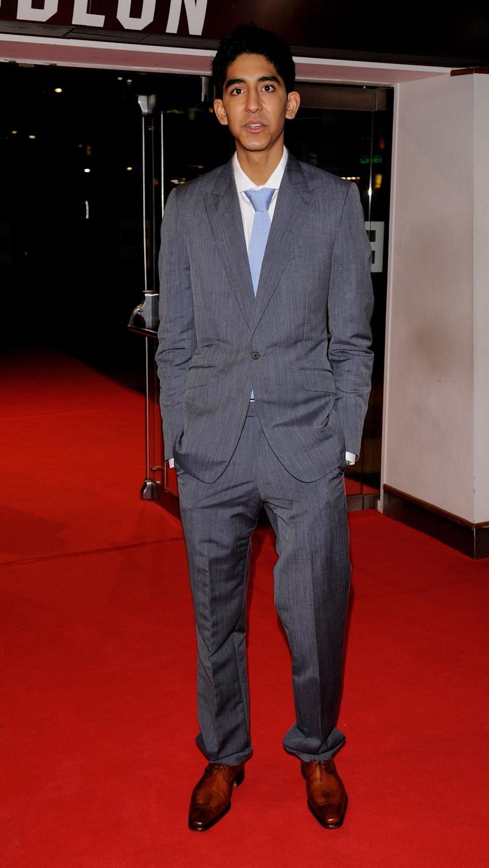 "Patel at the closing night gala for ""Slumdog Millionaire"" at Odeon Leicester Square in London on Oct. 30, 2008."