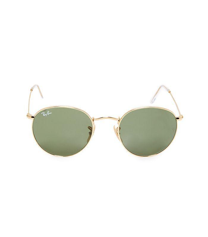 You'll see fashion girls everywhere wearing these affordable sunnies.