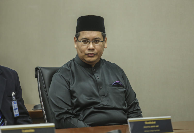 Sipitang MP Yamani Hafez Musa applied to join PPBM along with many other former Sabah Umno leaders in January but was not immediately accepted when the party had its launch here in April. — Picture by Firdaus Latif