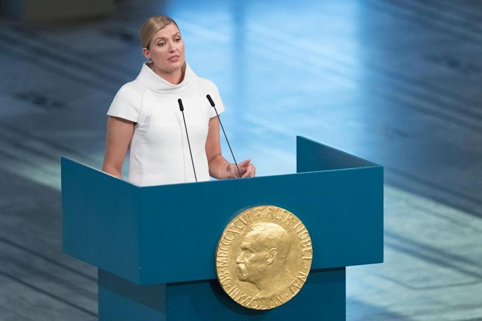 Beatrice Fihn, head of the International Campaign to Abolish Nuclear Weapons, criticised the Singapore deal (Picture: Getty)
