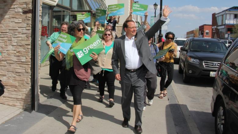 Green Leader Mike Schreiner pledges to expand Greenbelt into 'bluebelt'
