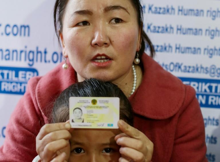 """Auelkhan, a Chinese citizen of Kazakh descent, says she was part of a network of mostly Muslim minorities in Xinjiang who pass from what China calls """"vocational training centres"""" to factories where they are forced to work for far less than the local minimum wage"""