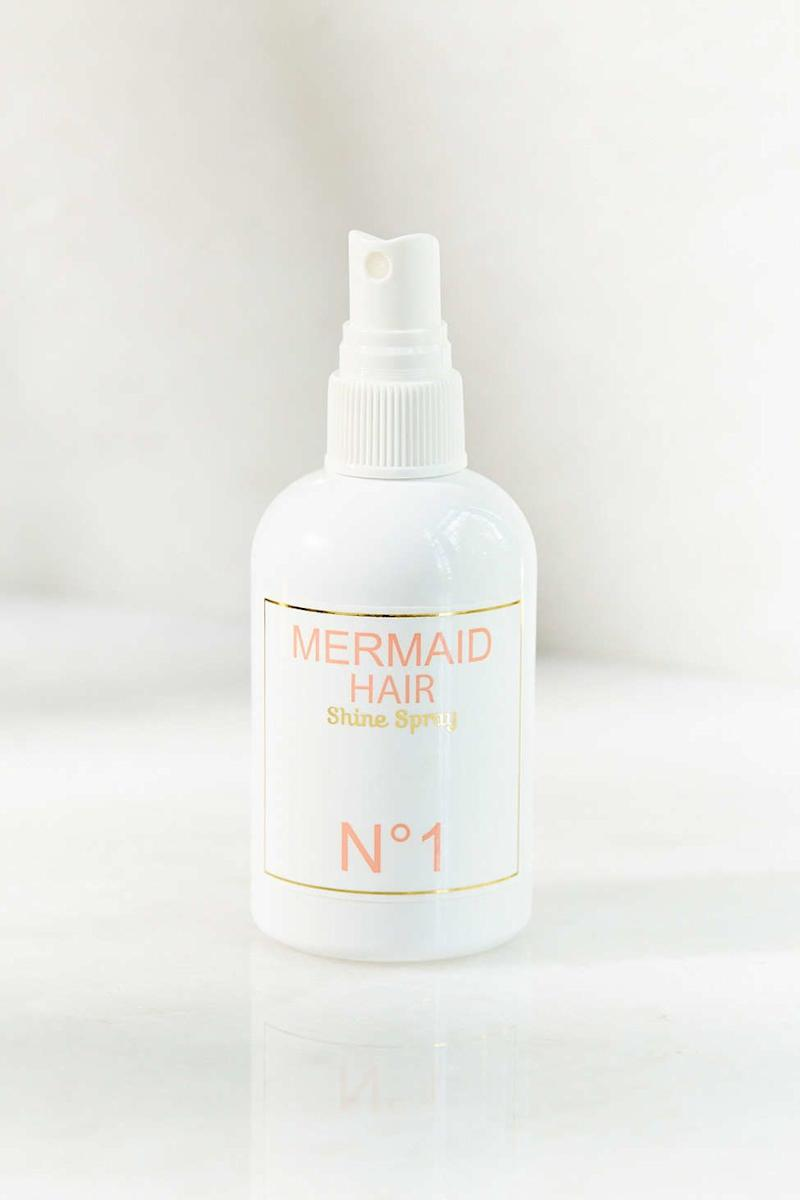 "Mermaid Hair Shine Spray, $28, <a href=""http://www.urbanoutfitters.com/urban/catalog/productdetail.jsp?id=33853193&amp;category=SEARCH+RESULTS"" target=""_blank"">Urban Outfitters</a>"