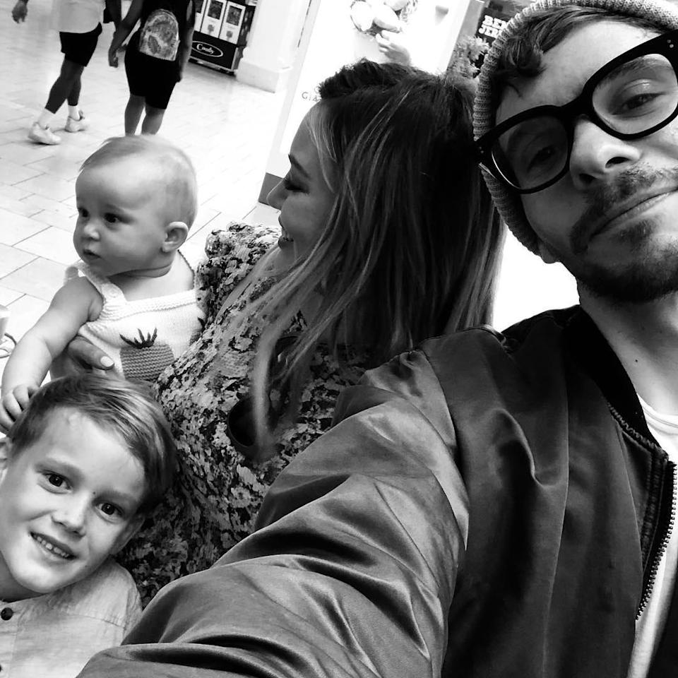 """<p>In April 2019, Duff simply <a href=""""https://www.instagram.com/p/BwgU9CMAaAJ/"""" rel=""""nofollow noopener"""" target=""""_blank"""" data-ylk=""""slk:captioned a photo of the family of four"""" class=""""link rapid-noclick-resp"""">captioned a photo of the family of four</a>, """"🐺pack.""""</p>"""