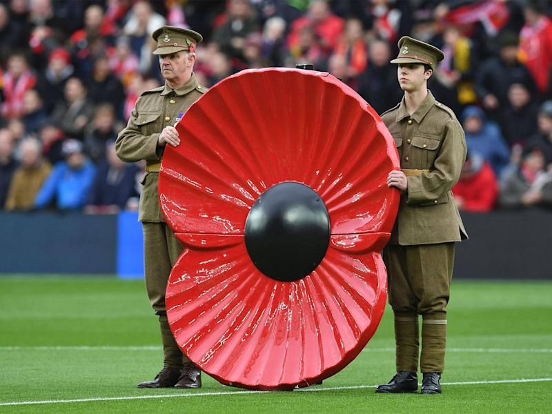 Do not politicise Remembrance Day, do not politicise the wearing of a poppy this Sunday: Getty
