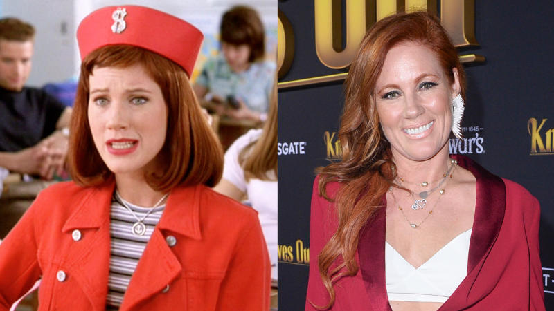 Elisa Donovan in 'Clueless' and in 2019. (Credit: Paramount/CBS/Jerod Harris/Getty Images)