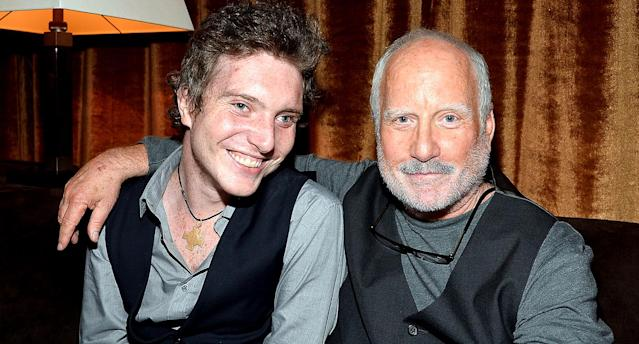 Ben Dreyfuss and actor Richard Dreyfuss in 2013. (Photo: Frazer Harrison/Getty Images for Relativity Media)