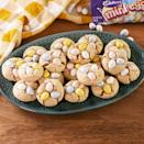 """<p>These are the perfect <a href=""""https://www.delish.com/uk/cooking/recipes/g31954424/easter-cake-recipes/"""" rel=""""nofollow noopener"""" target=""""_blank"""" data-ylk=""""slk:Easter treat"""" class=""""link rapid-noclick-resp"""">Easter treat</a>! </p><p>Get the <a href=""""http://www.delish.com/uk/cooking/recipes/a34491005/cadbury-blossom-cookies-recipe/"""" rel=""""nofollow noopener"""" target=""""_blank"""" data-ylk=""""slk:Cadbury Mini Egg Cookies"""" class=""""link rapid-noclick-resp"""">Cadbury Mini Egg Cookies</a> recipe.</p>"""