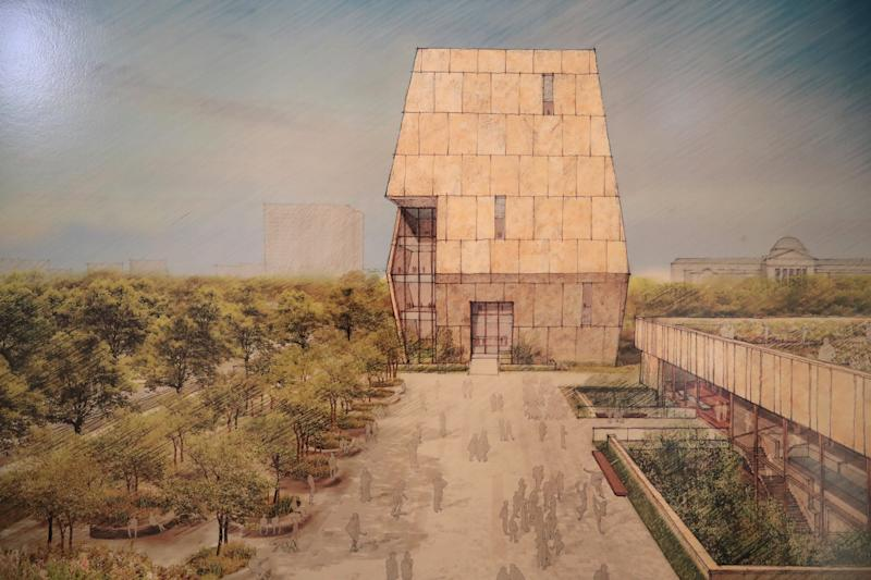 The Obama Presidential Center is being designed by Tod Williams Billie Tsien Architects.