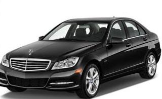 The black 2014 Mercedes Benz C200 sedan was last seen leaving the Blackburn North home at around 8.45am on Monday. Source: Victoria Police
