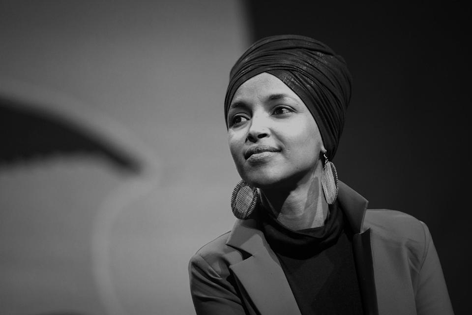 Rep. Ilhan Omar has been a frequent target of Trump's racist and Islamophobic rhetoric. (Photo: Al Drago/Bloomberg/Getty Images)