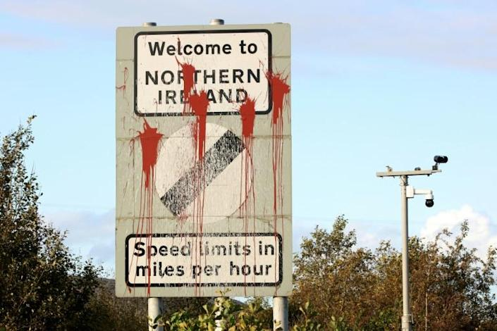 Britain is said to have softened its stance on its customs proposal for Northern Ireland (AFP Photo/Paul Faith)