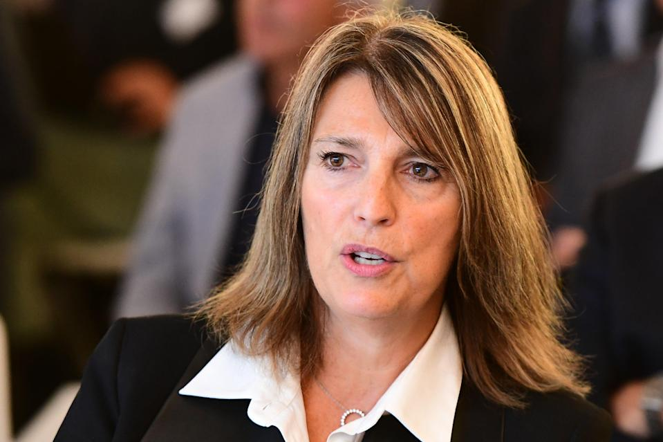 Carolyn McCall  (AFP via Getty Images)