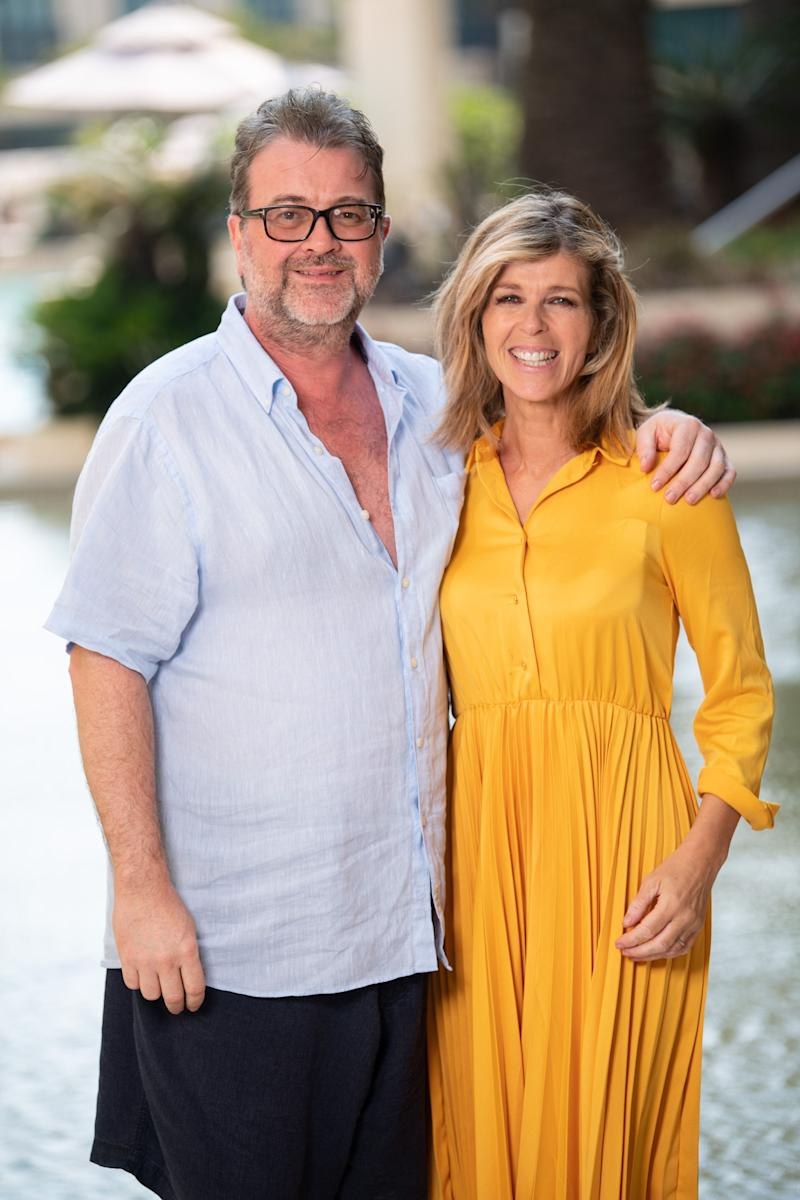 Derek and Kate in Australia last year, after she left the I'm A Celebrity jungle (Photo: James Gourley/ITV/Shutterstock)