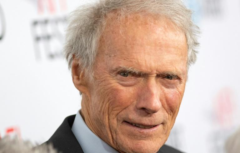 Director and actor Clint Eastwood, born in 1930, appears to still enjoy plying his trade (AFP Photo/VALERIE MACON)