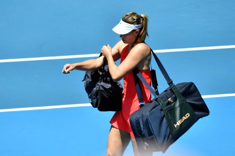 Russia's Maria Sharapova cast doubt on her future after her early exit in Melbourne