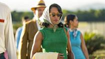 "<p>When it comes to awards shows, Regina King is on a winning streak. In 2019, the actress won an Academy Award for playing a mother who does what must be done in <em><a href=""https://www.amazon.com/gp/video/detail/amzn1.dv.gti.46b41f1f-f902-777d-80a0-0b51b035e032?autoplay=1&ref_=atv_cf_strg_wb&tag=syn-yahoo-20&ascsubtag=%5Bartid%7C10063.g.35489332%5Bsrc%7Cyahoo-us"" rel=""nofollow noopener"" target=""_blank"" data-ylk=""slk:If Beale Street Could Talk"" class=""link rapid-noclick-resp"">If Beale Street Could Talk</a></em>. In 2020, she won an Emmy for playing a masked vigilante fighting against entrenched racism in <a href=""https://www.oprahmag.com/entertainment/a30256864/watchmen-season-2-release-date-cast-news/"" rel=""nofollow noopener"" target=""_blank"" data-ylk=""slk:HBO's stunning Watchmen"" class=""link rapid-noclick-resp"">HBO's stunning <em>W</em><em>atchmen</em></a> series. Making her directorial debut with <em><a href=""https://www.amazon.com/gp/video/detail/amzn1.dv.gti.e8badd0e-9d87-114a-934b-54a31210c34f?autoplay=1&ref_=atv_cf_strg_wb&tag=syn-yahoo-20&ascsubtag=%5Bartid%7C10063.g.35489332%5Bsrc%7Cyahoo-us"" rel=""nofollow noopener"" target=""_blank"" data-ylk=""slk:One Night in Miami"" class=""link rapid-noclick-resp"">One Night in Miami</a></em>, King is yet again poised to sweep the 2021 awards season. </p><p>The multi-hyphenate first captured the attention of fans in 1987 with the sitcom <em><a href=""https://www.amazon.com/227-Complete-Season-Marla-Gibbs/dp/B01N5MQHEA/?tag=syn-yahoo-20&ascsubtag=%5Bartid%7C10063.g.35489332%5Bsrc%7Cyahoo-us"" rel=""nofollow noopener"" target=""_blank"" data-ylk=""slk:227"" class=""link rapid-noclick-resp"">227</a>, </em> in which she starred as the rebellious teenager Brenda Jenkins. Although her film career took some time to gain momentum, King appeared in several small roles throughout the '90s—<em><a href=""https://www.amazon.com/gp/video/detail/amzn1.dv.gti.b0a9f711-4998-335e-2601-154b7a8bc26a?autoplay=1&ref_=atv_cf_strg_wb&tag=syn-yahoo-20&ascsubtag=%5Bartid%7C10063.g.35489332%5Bsrc%7Cyahoo-us"" rel=""nofollow noopener"" target=""_blank"" data-ylk=""slk:How Stella Got Her Groove Back"" class=""link rapid-noclick-resp"">How Stella Got Her Groove Back</a></em>, anyone? By 2003, she hit her stride with popular movies such as <em><a href=""https://www.amazon.com/Legally-Blonde-Red-White/dp/B000VAGS50/?tag=syn-yahoo-20&ascsubtag=%5Bartid%7C10063.g.35489332%5Bsrc%7Cyahoo-us"" rel=""nofollow noopener"" target=""_blank"" data-ylk=""slk:Legally Blonde 2"" class=""link rapid-noclick-resp"">Legally Blonde 2</a></em>, <em><a href=""https://go.redirectingat.com?id=74968X1596630&url=https%3A%2F%2Fitunes.apple.com%2Fus%2Fmovie%2Fmiss-congeniality-2-armed-and-fabulous%2Fid271434773&sref=https%3A%2F%2Fwww.redbookmag.com%2Flife%2Fg35489332%2Fregina-king-movies-list%2F"" rel=""nofollow noopener"" target=""_blank"" data-ylk=""slk:Miss Congeniality 2"" class=""link rapid-noclick-resp"">Miss Congeniality 2</a></em>, and the biopic <em><a href=""https://www.amazon.com/Ray-Jamie-Foxx/dp/B001NMLMAQ/?tag=syn-yahoo-20&ascsubtag=%5Bartid%7C10063.g.35489332%5Bsrc%7Cyahoo-us"" rel=""nofollow noopener"" target=""_blank"" data-ylk=""slk:Ray"" class=""link rapid-noclick-resp"">Ray</a></em>. King has also appeared in acclaimed TV shows. Crime show fans will enjoy her Emmy award-winning turns in <em><a href=""https://www.netflix.com/watch/80024103?source=35"" rel=""nofollow noopener"" target=""_blank"" data-ylk=""slk:American Crime"" class=""link rapid-noclick-resp"">American Crime</a> </em>or the Netflix show <em><a href=""https://www.netflix.com/watch/80117555?source=35"" rel=""nofollow noopener"" target=""_blank"" data-ylk=""slk:Seven Seconds"" class=""link rapid-noclick-resp"">Seven Seconds</a></em> (both streaming now). Or, for HBO prestige fare, catch her in <em><a href=""https://www.amazon.com/gp/video/detail/amzn1.dv.gti.2aae35d1-2d7a-ed34-ba65-b2bdc3d5af73?autoplay=1&ref_=atv_cf_strg_wb&tag=syn-yahoo-20&ascsubtag=%5Bartid%7C10063.g.35489332%5Bsrc%7Cyahoo-us"" rel=""nofollow noopener"" target=""_blank"" data-ylk=""slk:The Leftovers"" class=""link rapid-noclick-resp"">The Leftovers</a></em><em>—</em>just bring tissues. </p><p>In celebration of the star's dominion over awards seasons (long may she reign!), here's a look back at the movies that make King a household name.</p>"