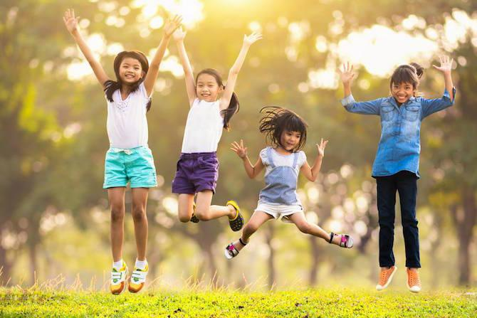 child interest in outdoor events