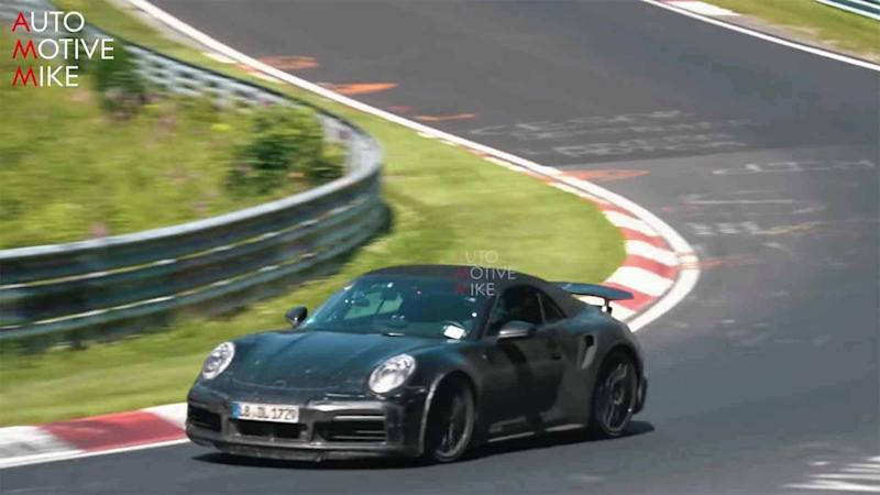 Next Porsche 911 Turbo Cabrio Spy Video