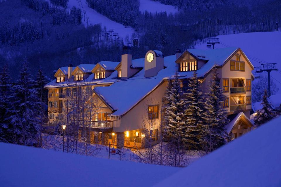 """<p><a href=""""http://ospreyatbeavercreek.rockresorts.com/"""" rel=""""nofollow noopener"""" target=""""_blank"""" data-ylk=""""slk:The Osprey"""" class=""""link rapid-noclick-resp"""">The Osprey</a> resort's """"Winter Wine Excursions"""" is the perfect excuse to book a trip to the mountains with your favorite girls. This guided tour will take your group snowshoeing through Beaver Creek for the best Rocky Mountain views, on a scenic ride aboard the Buckaroo Express gondola, and finally to <a href=""""http://ospreyatbeavercreek.rockresorts.com/dining/"""" rel=""""nofollow noopener"""" target=""""_blank"""" data-ylk=""""slk:The Osprey Fireside Grill"""" class=""""link rapid-noclick-resp"""">The Osprey Fireside Grill</a>, where you'll negate all the calories you just burned off, thanks to decadent food and wine pairings (yep, you earned that Caramel Chocolate Brownie S'more).</p><p> <strong><em>For more information, visit </em></strong><strong><em><a href=""""http://ospreyatbeavercreek.rockresorts.com/"""" rel=""""nofollow noopener"""" target=""""_blank"""" data-ylk=""""slk:ospreyatbeavercreek.rockresorts.com"""" class=""""link rapid-noclick-resp"""">ospreyatbeavercreek.rockresorts.com</a>.</em></strong></p>"""