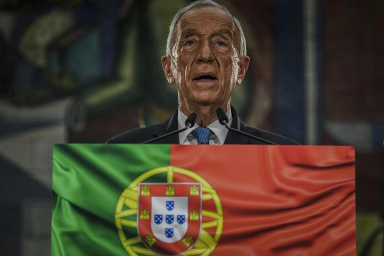 """Marcelo Rebelo de Sousa in his victory speech pledged to make the fight against coronavirus his """"first priority"""""""