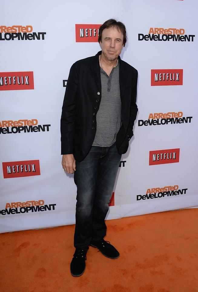 "HOLLYWOOD, CA - APRIL 29:  Actor Kevin Nealon arrives at the TCL Chinese Theatre for the premiere of Netflix's ""Arrested Development"" Season 4 held on April 29, 2013 in Hollywood, California.  (Photo by Jason Merritt/Getty Images)"