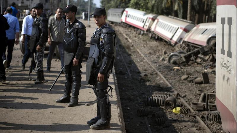 EGYPT TRAIN ACCIDENT