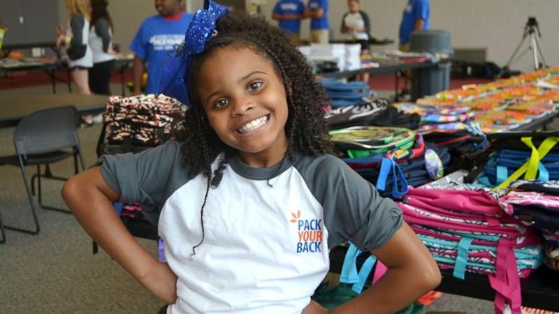 Meet the 10-year-old who donated 1,000 backpacks to Flint students