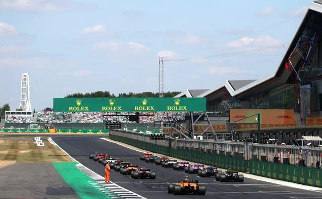 Silverstone announced earlier this week that the British Grand Prix must be behind closed doors if it takes place this year (David Davies/PA)