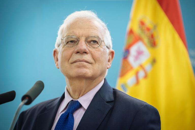 Spanish Foreign Minister Josep Borrell has been nominated to become the EU's next foreign policy chief (AFP Photo/Jure Makovec)