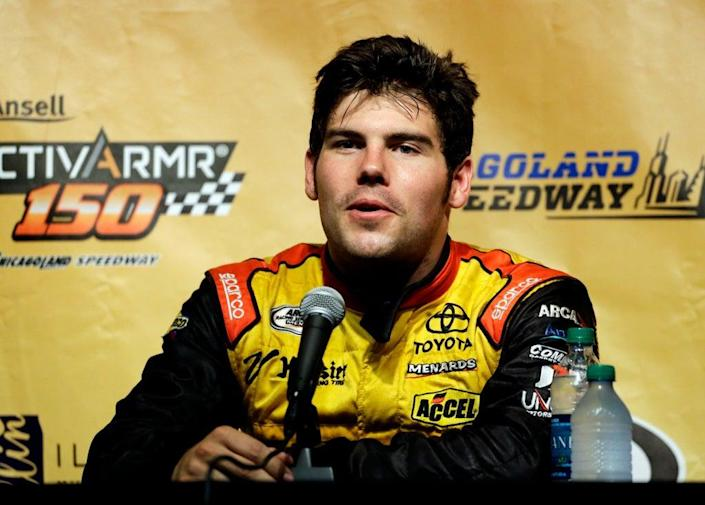 NASCAR Townley Killed Auto Racing (Copyright 2021 The Associated Press. All rights reserved.)
