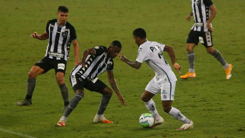 2020 Brasileirao Series A: Botafogo v Santos Play Behind Closed Doors Amidst the Coronavirus (COVID | Luis Alvarenga/Getty Images