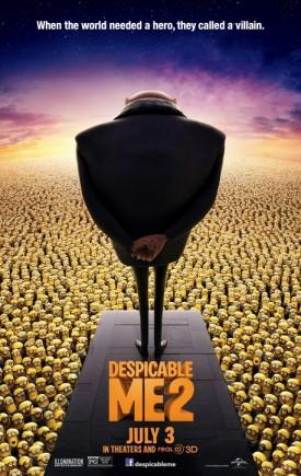 'Despicable Me 2′ Crosses $400M Worldwide And $200M Domestic Box Office Today