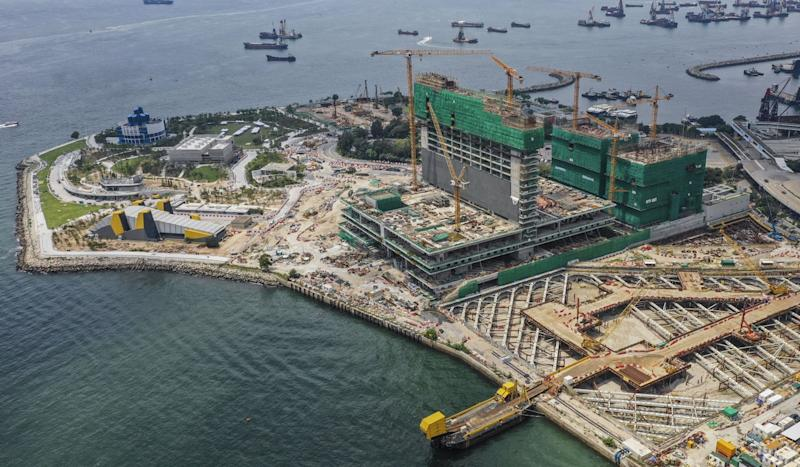 Authority paid out HK$1.609 billion for Hong Kong arts hub project despite knowing main contractor was in financial trouble